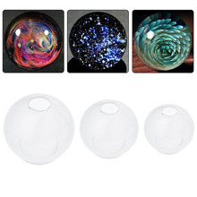 epoxy mold Silicone Mould Dried Flower Resin Decorative Craft DIY universe ball shape Type resin molds for jewelry