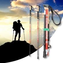Hiking poles Trekking pole ski poles handle for trekking poles Walking Sticks Folding Sticks nordic walking poles D30 1 pair ultra light folding nordic walking poles carbon fiber trekking poles hiking alpenstock walking sticks for travel