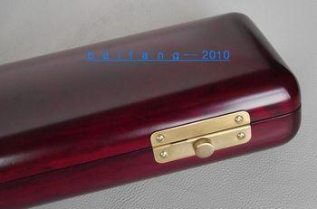 16 holes wooden flute case beautiful