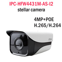 Original Dahua Stellar 4MP IPC HFW4431M AS I2 Replace IPC HFW4421D AS Bullet Camera CCTV IPDH