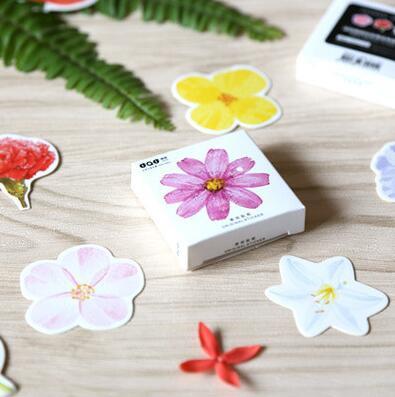 45 pcs/pack The Flowers in My Memory Decorative Stickers Adhesive Stickers DIY Decoration Craft Scrapbooking Stickers alive for all the things are nice stickers adhesive stickers diy decoration stickers