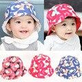 V-TREE Primavera otoño nuevos Niños del sombrero del bebé sombreros para niñas niños nubes flores bebé del casquillo del bebé apoyos de la fotografía