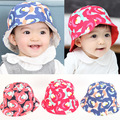 V-TREE Spring autumn new baby hat Children hats for girls boys clouds flowers baby cap baby photography props