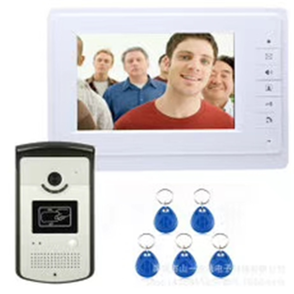 7 Inch ID Card Access Control Video DOOR Phone