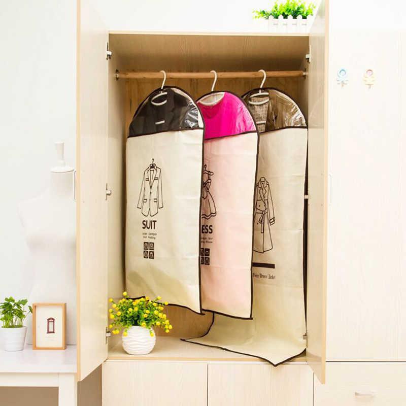 Kleidung Staubschutz Atmungs Anzug Abdeckung Hanging Garment Kleidung Schutz Tasche Anzug Abdeckung Kleidung Aufbewahrungstasche Röcke Mäntel JSX