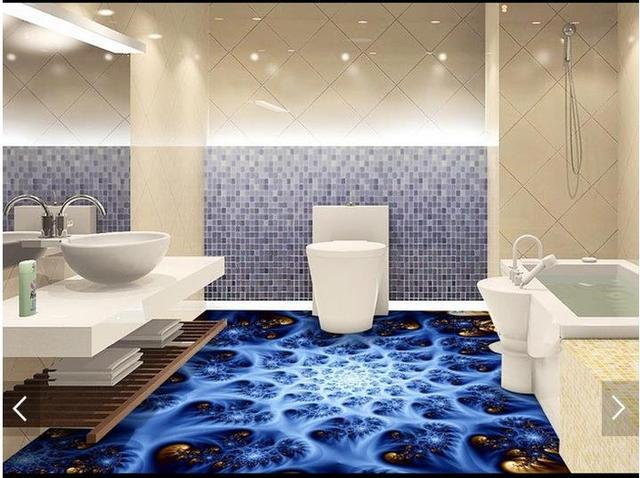3d bathroom floor tiles wholesale wood floors for Bathroom 3d floor designs