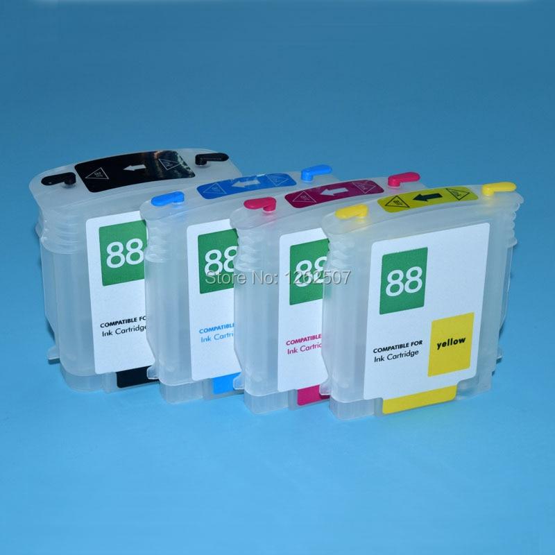 88XL C9385A C9386A C9387A C9388A HP Officejet Pro K5400 L7480 L7590 L7580 L7580 L7590 HP88 प्रिंटर ARC के साथ के लिए रिफिल स्याही कारतूस