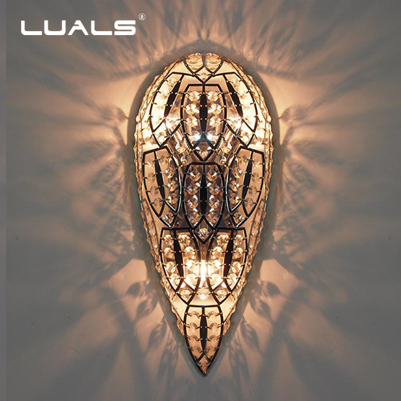Luxurious Crystal Wall Lamp Metal Plating Modern Wall Light Hotel Ideas Wall Lights Indoor Modern Wall Lamps Art Deco Lighting luxurious crystal wall lamp metal plating modern wall light hotel ideas wall lights indoor modern wall lamps art deco lighting