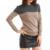 Sparsil mulheres outono & inverno cashmere mistura camisola pullovers patchwork o-pescoço pulôver de malha macia e quente fêmea alta qaultiy