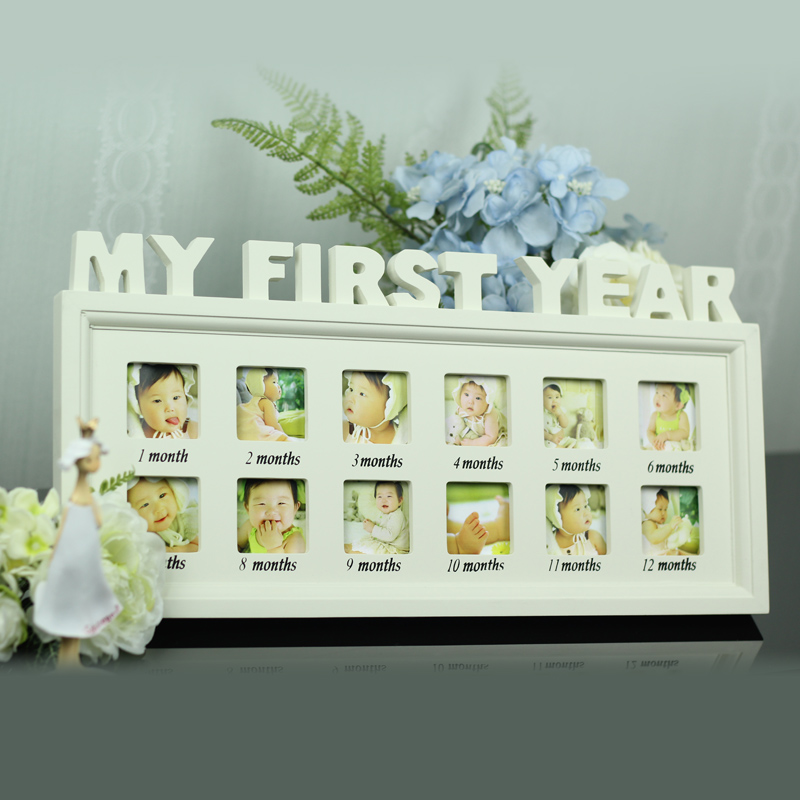 Us 299 Babys First Year Picture Frame Photo Frame In Frame From Home Garden On Aliexpresscom Alibaba Group
