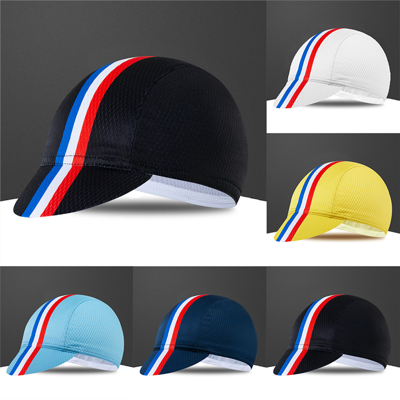 New Bike Cap Spain France Italy Flag Cycling Hat Breathable Gorra Ciclismo Quick Dry Headwear Sport Caps Bandana Men Women