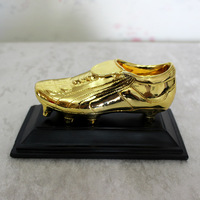 The World Golden Boots Trophy Cup Football Soccer Souvenirs Award for Soccer Match Award The Best player Nice GIft Free Shippin