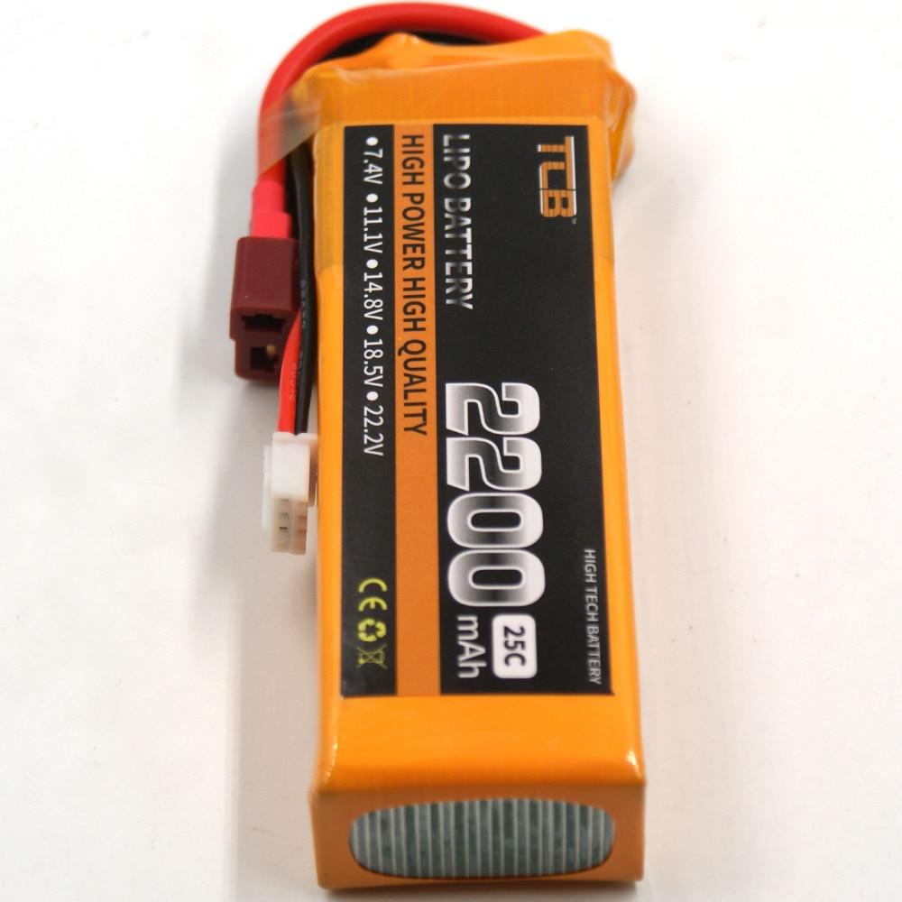 TCB RC LiPo Batteri 11.1v 2200mAh 25C 3s Li-Po Batterier för - Radiostyrda leksaker - Foto 3