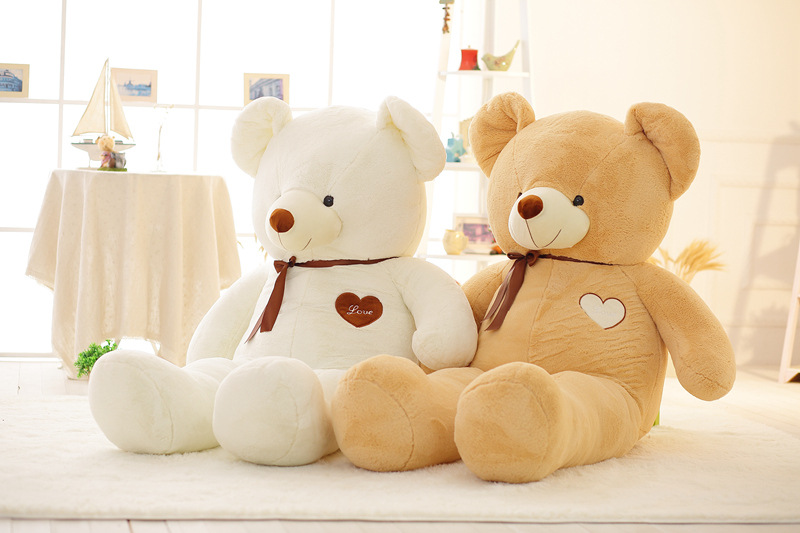 120cm teddy bear doll Stuffed Toys for girls valentine's day present 47inch kawaii plush toys stuffed animals New Year's toys new violence bear momo bearbrick gloomy bear popobe spiderman vinyl toys 10 inch 25cm
