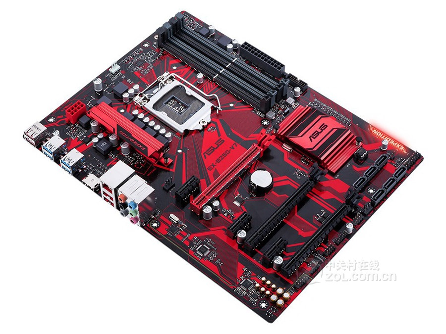 Asus EX-B250-V7 6 Graphics Card 1151 Pin B250 Motherboard DDR4  Used 90%new