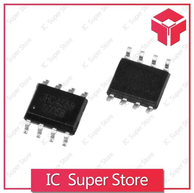 JRC4558D NJM4558D Dual Channel High Gain Operational Amplifier DIP8
