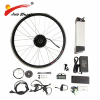 Hot Sale 36V12A/48V10A Electric Bike Kit E Bike Kit Kettle Battery E Bike Conversion Kit With 250W/350W/500W motor
