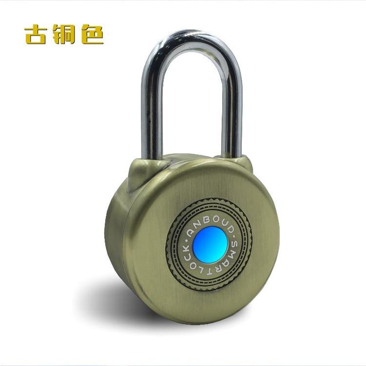 Bluetooth Smart Door Lock Waterproof Anti Theft Alarm For Cycling Motorycle Door With APP Control Electronic Door Lock