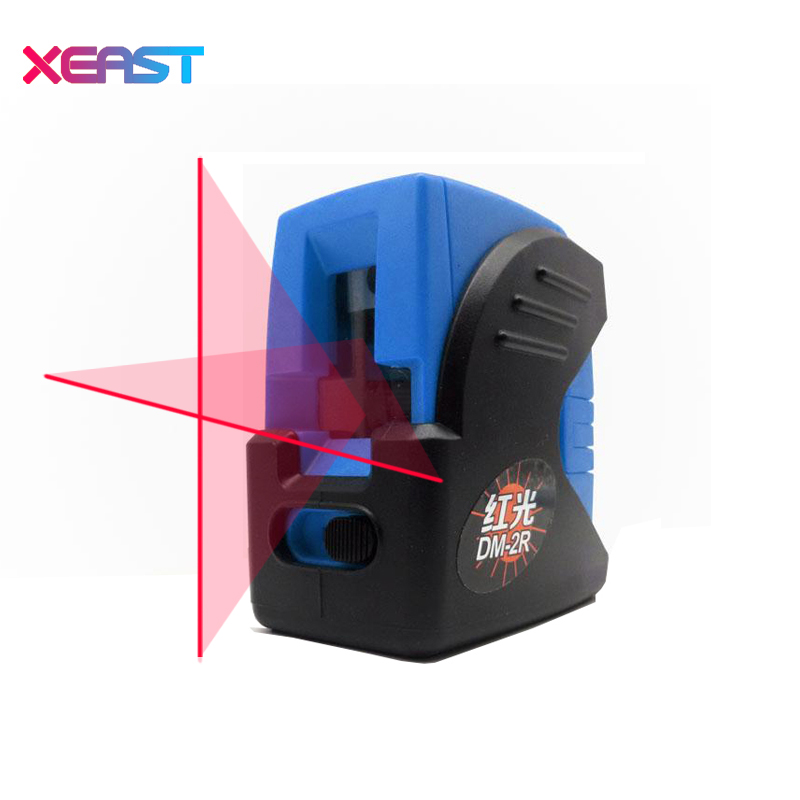 XEAST XE-14A 2 Lines Red or Green Laser Level Self Levelling 360 degree Horizontal and Vertical Cross-Line Mini Size high quality southern laser cast line instrument marking device 4lines ml313 the laser level