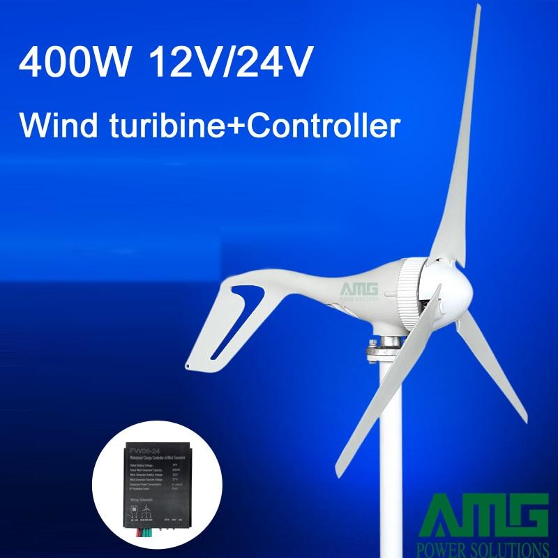 400 Watt 12 V/24 V 3/5 klingen horizontale windl turbine ... Windl Wiring Diagram on