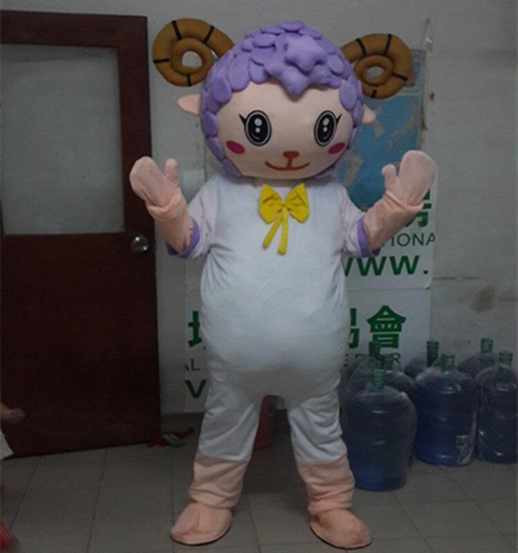 Antilope mouton Mascotte Costume Halloween noël anniversaire célébration carnaval robe Cosplay thème Mascotte carnaval Costume