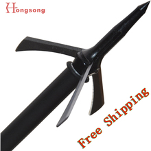 Hot sale!!! 2 cut bow and crossbow arrowhead ,3blades points,125gr mechanical hunting broadhead