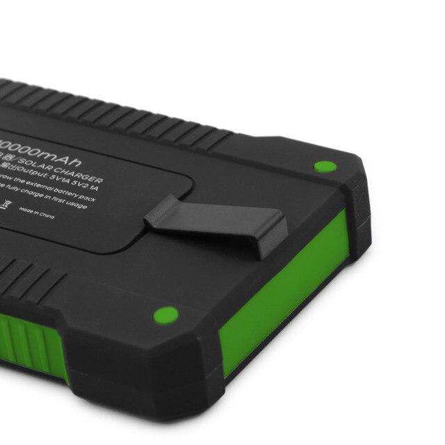 10000mAh Portable Solar Power Bank 1