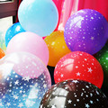 10 шт. 12 дюймов толщиной 2.8 г Романтический пятиконечная звезда Воздушные Шары Латексные детские день рождения Украшения Свадебные Принадлежности Free Shopping