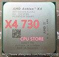 AMD X4 730 CPU Procesador Quad-Core (2.8 Ghz/L2 = 2*2 M/65 W) Socket FM2 CPU de Escritorio scrattered piezas (trabajando 100% Envío Libre)