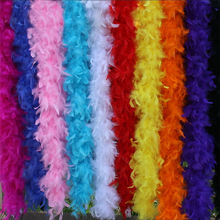 2M/lot Thickened Turkey feathers feather tops Clothing lighting stage decoration diy wedding dress material AC080