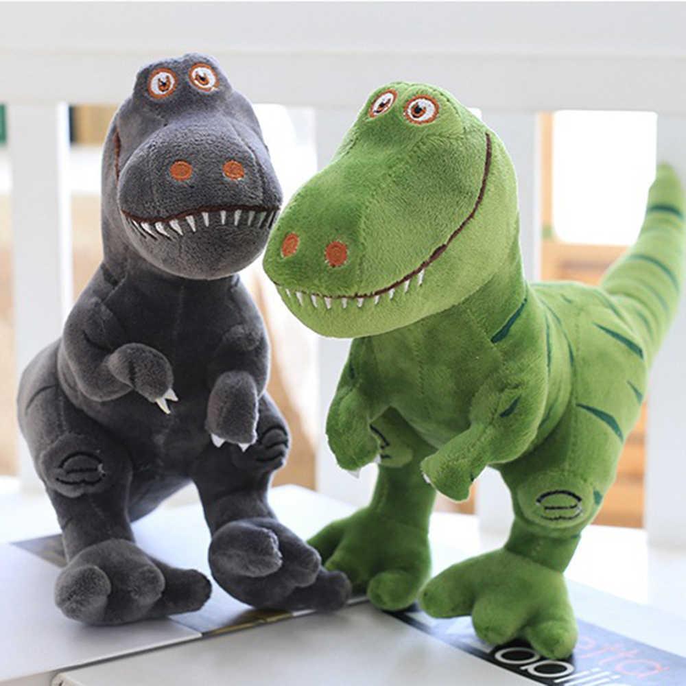 40 см плюшевый динозавр мягкие игрушки мультфильм милый тираннозавр чучела Speelgoed действие кукла для детей взрослому подарок на день рождения