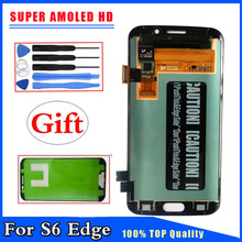 Super AMOLED HD for Samsung Galaxy S6 Edge G925 G925F LCD Display Touch Screen Digitizer Replacement