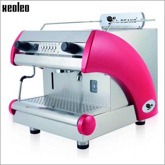 Xeoleo Commercial Espresso Coffee Machine Stainless Steel Semi
