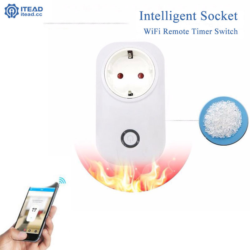 Sonoff S20 Wifi Socket,Smart Home Itead Wireless Remote Control EU/US/