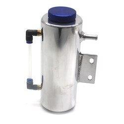 Uniwersalny 500ml chłodnica samochodowa woda chłodząca chłodnica zbiornik płynu chłodzącego zbiornik przelewowy zbiornik aluminiowy Radiator