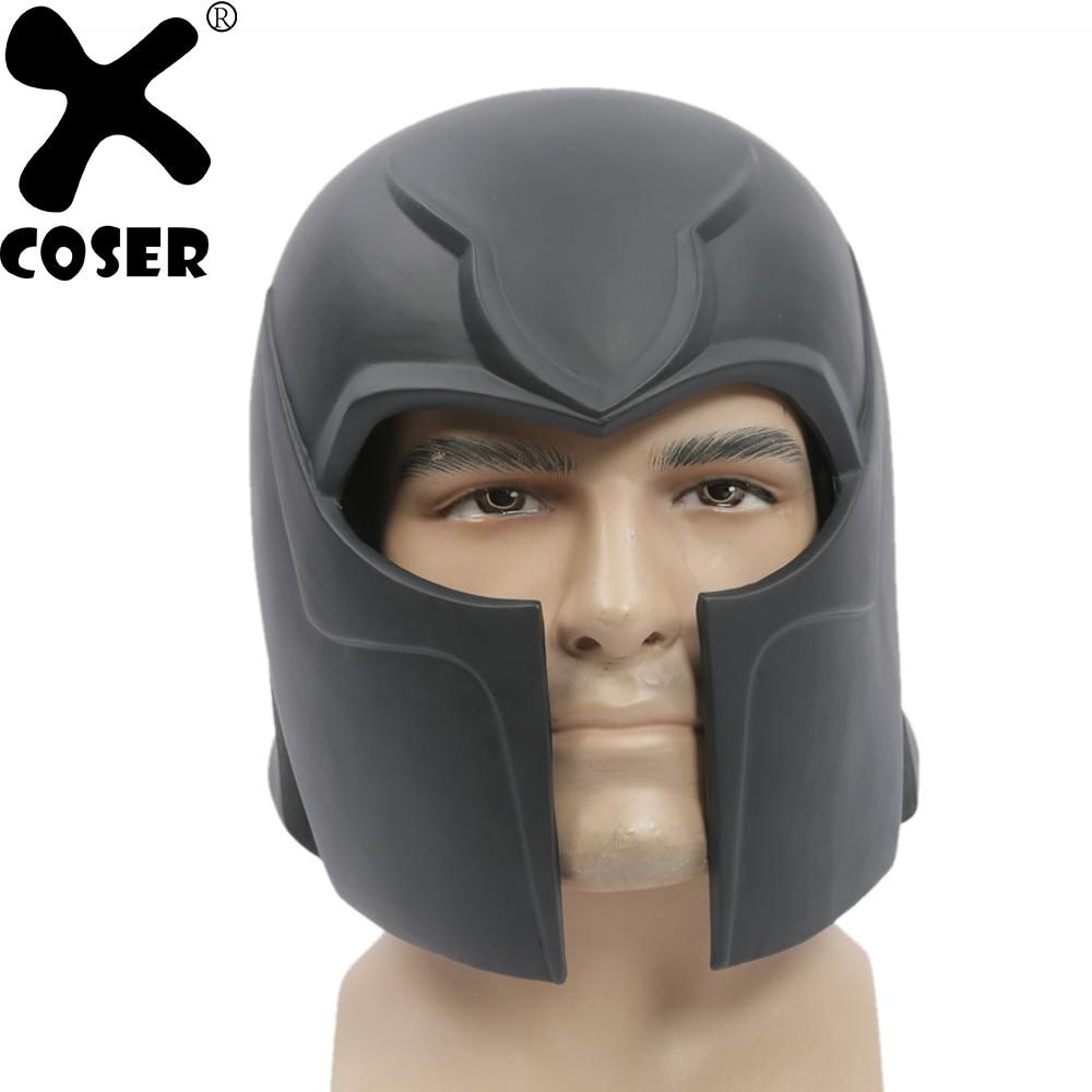 XCOSER X-Men Magneto Cosplay Helmets Halloween Festival Party Costume Props Mask Movie Cosplay Accessory Helmet