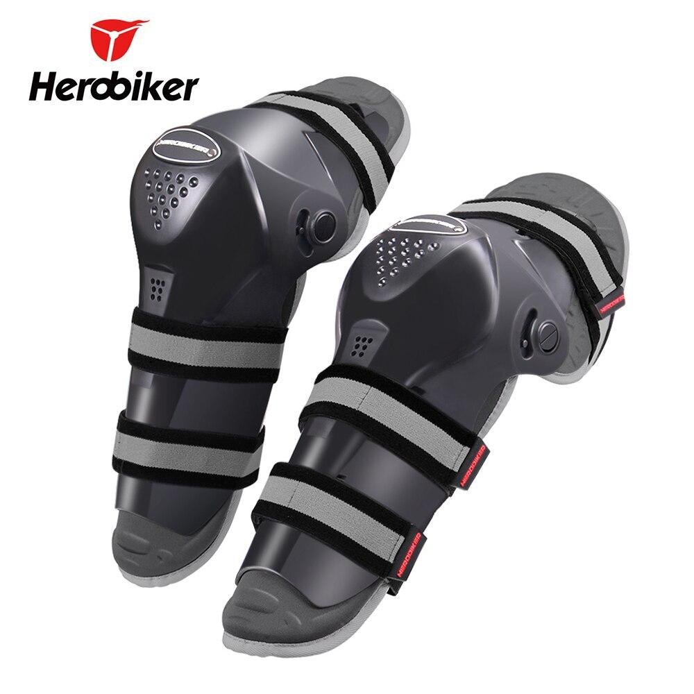 HEROBIKER Motocross genouillère protectrice Garde Moto genouillères Joelheira Ski Genouillère Moto attelle de genou Soutien équipement de protection