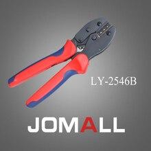 Купить с кэшбэком LY-2546B crimping tool crimping plier 2 multi tool tools hands LY Ratchet Crimping Plier (European Style)