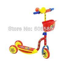 Gratis verzending kinderen scooter gebruiker leeftijd 3 6 jaar 3 wielen roze rood S50-in Step van sport & Entertainment op