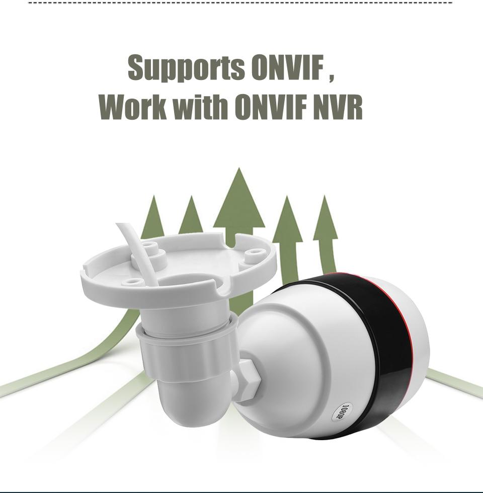 SUCAM Waterproof H.265 4MP IP Camera Fisheye Wide Angle Panoramic Bullet White ONVIF CCTV IP-Cameras Motion Detection 25M IR 1