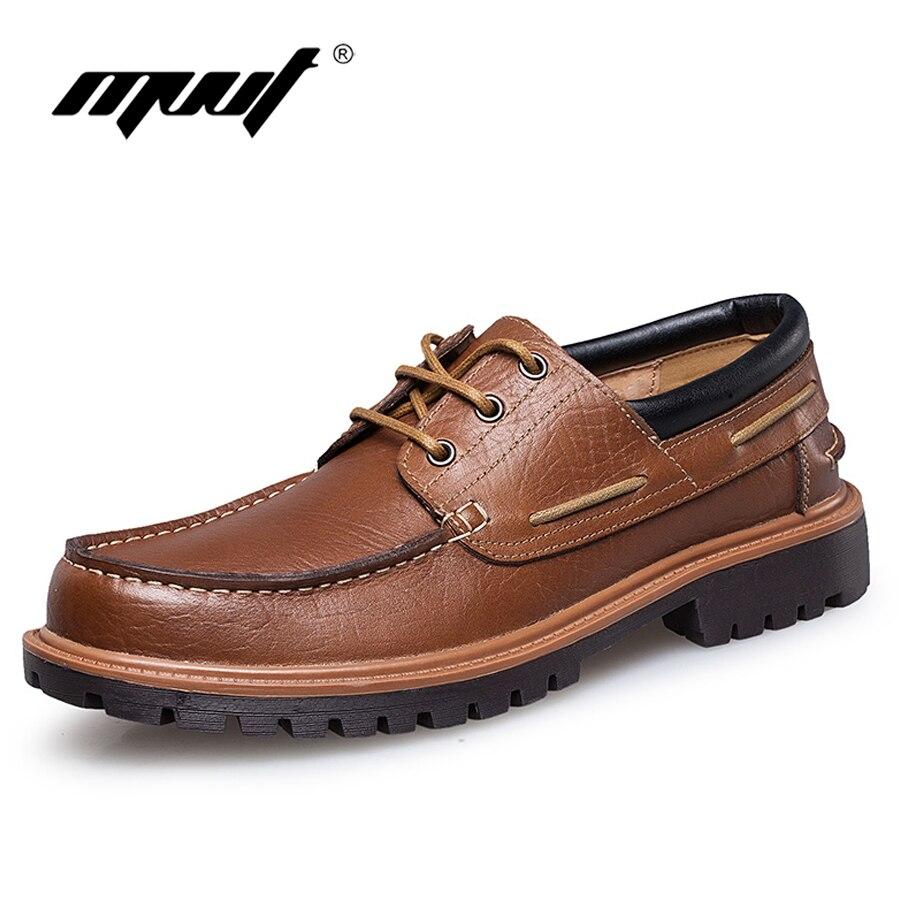 MVVT العلامة التجارية بالإضافة إلى حجم 5.5-11 أحذية رجالية الراحة عارضة أحذية الرجال الشقق جلد طبيعي الأعمال أوكسفورد أحذية رجالية