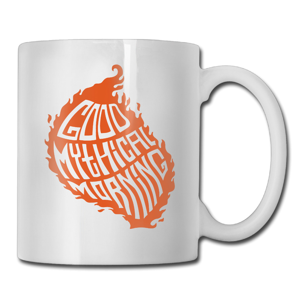 Good Mythical Morning coffee mug picture insert children tazas ceramic tumbler caneca tea Cups