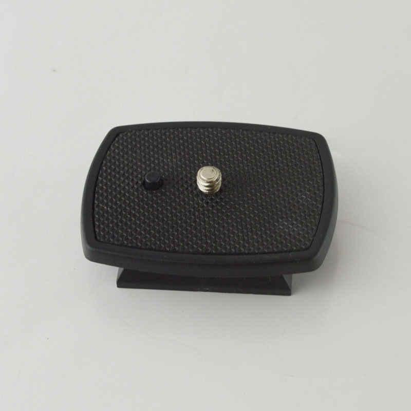 Czarny płyta szybkiego uwalniania statyw Monopod śruba z łbem uchwyt adaptera dla VCT-D680RM D580RM R640 Velbon PH-249Q łeb stożkowy, CX-888