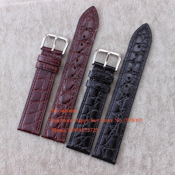 12 13 14 16 18 20mm Black brown Genuine Leather WatchBand 2.5mm Ultra Thin Wristband Bracelet Soft Strap for L4 straps овощерезка комплект прима плюс 5 предметов красная