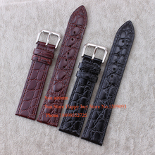 12 13 14 16 18 20mm Negro marrón Cuero Genuino correa de reloj de 2.5mm Ultra Thin Pulsera Correa Suave para L4 correas