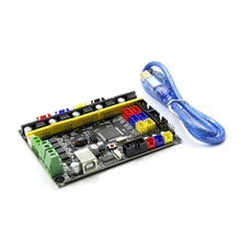 Denetleyici PCB Kurulu MKS Gen L V1.0 Entegre Anakart Uyumlu Ramps1.4/Mega2560 R3 Destek A4988/DRV8825/TMC2100/LV8729