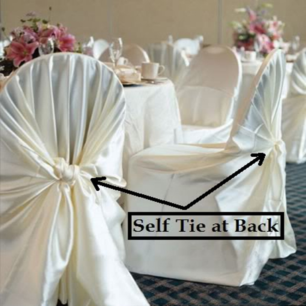 Chair Cover Express Hawaii Resistance Accessories 1 Pcs Self Tie Satin Wedding Banquet Hotel Party Decoration Product Supplies 110cm 140cm In From Home Garden On Aliexpress Com