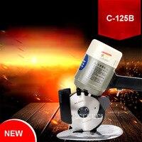 Yeni Sıcak Sekizgen Yuvarlak Kesici Kalınlaşma Kesme Makinesi C-125B Bakır Solucan Tekerlek Elektrikli Kesme Küçük Kesici 220 v/110 v 350 W