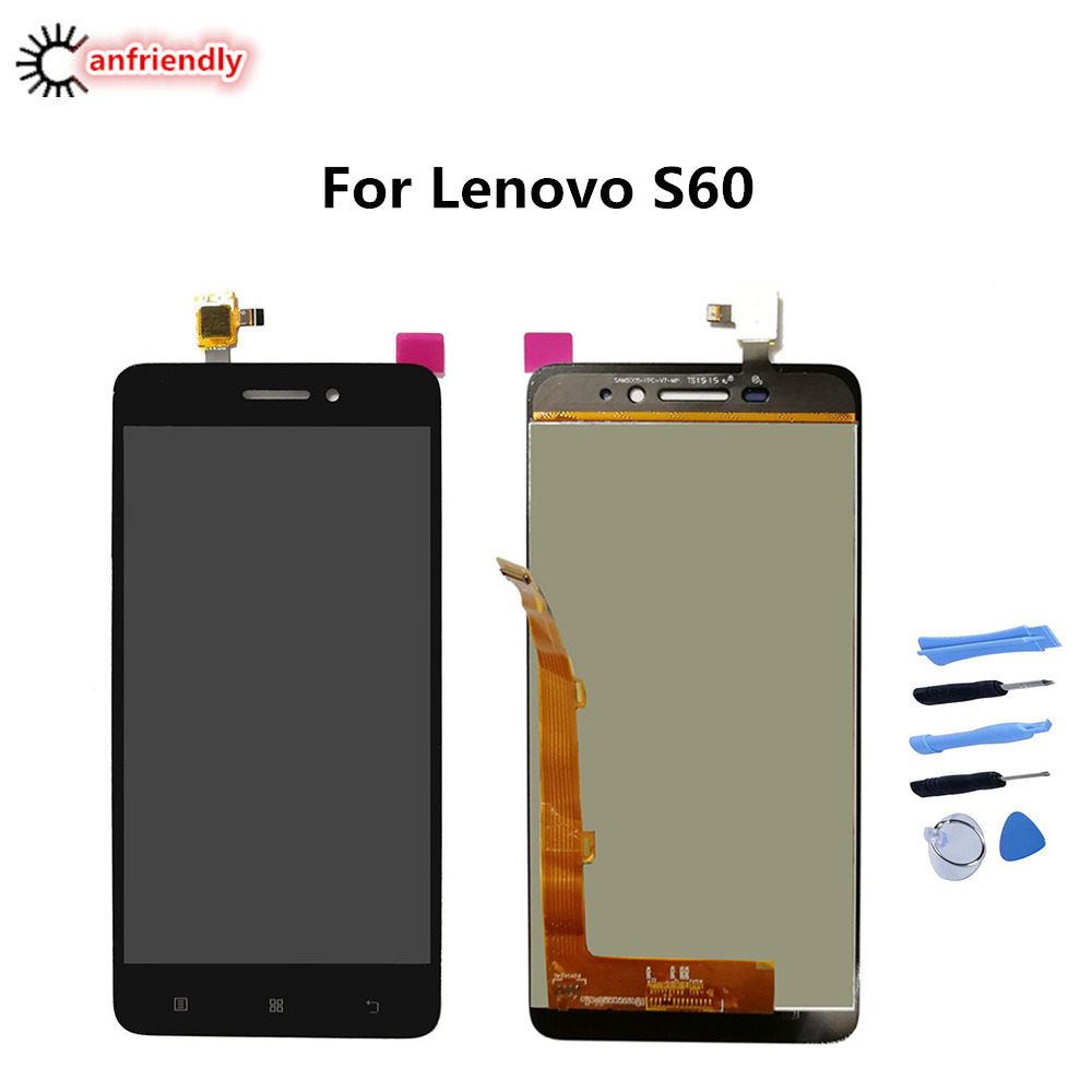 For Lenovo S60 S 60 S60W S60A S60T LCD Display+Touch Screen Replacment Digitizer Assembly Phone Glass For Lenovo S60 S60-A lcds image