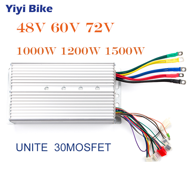 DC 48V 1000W Brushless Motor Controller For E-bike Scooter Electric Bicycle